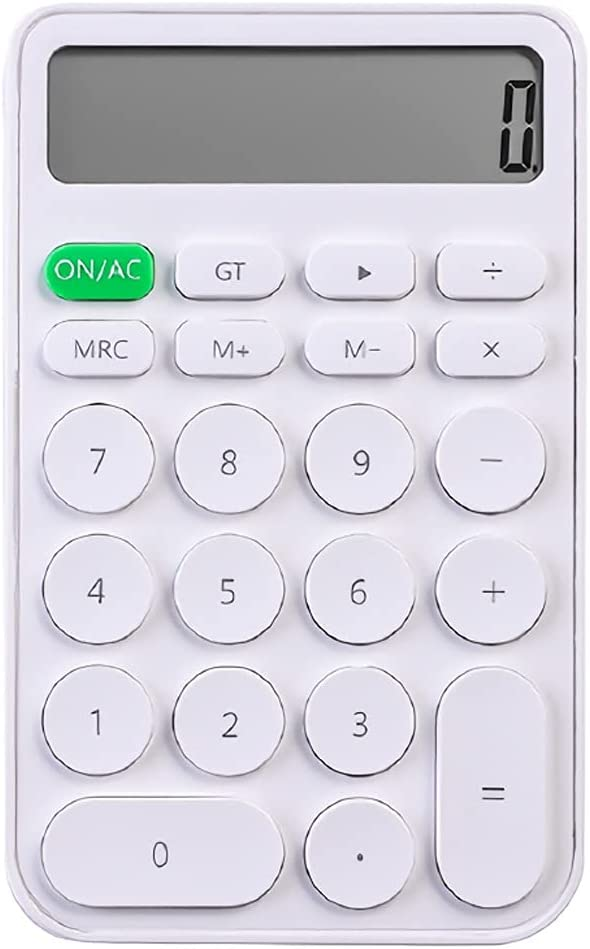 THHN Mini Portable Scientific 5 ☆ popular New products world's highest quality popular 12-Digit Calculator Large-Screen