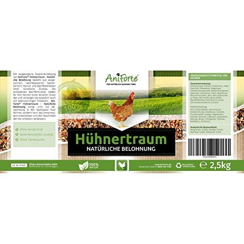 AniForte Hühnertraum Gesunde Belohnung 2,5 kg – Naturprodukt für Hühner - 3