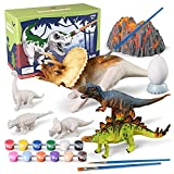 3D Painting Dinosaurs Kit for Kids Age 3-15, Arts and Crafts Kits Drawing Toys with Dinosaurs Model Set Creativity Gifts for Boys and Girls