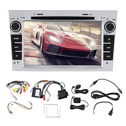 Tbest Radio estéreo para Coche, Reproductor de Coche 2Din, vídeo de Audio estéreo con Pantalla capacitiva de 7 Pulgadas para Android 9,0 Apto para Opel Astra/Antara/Vivaro