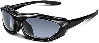 サングラス 偏光レンズ ロードバイク ドライブ バイク 自転車 スポーツ 登山 釣り 野球 ゴルフ ランニング テニス スキー 保護 安全 清晰 紫外線防止 軽量 UV400 TAC TR90