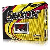 Srixon Z-Star Pelotas de Golf (una docena) (versión 2019), Hombre