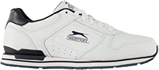 Slazenger Mens Classic Trainers Lace Up Padded Ankle Collar