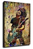 DPFRY Dave Grohl FOO Fighters Poster Leinwand Kunst Poster