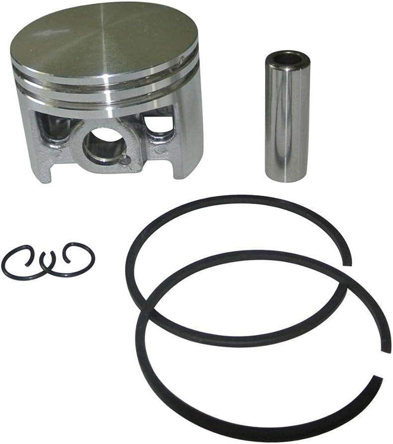 LIBEI Kit de Anillo de retención de Pasador de Anillo de pistón de 44mm Apto para STIHL 026 MS260 Motor de Motosierra de Gasolina Reconstrucción del Motor Repace Parte 1121030 2001