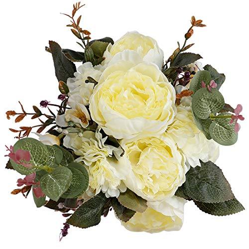 StarLifey Künstliche Pfingstrose Hochzeit Blume Vintage Pfingstrose Seidenblumen für Home Küche Hochzeit Herzstück Decor
