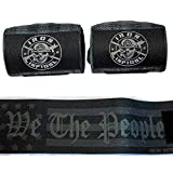 Iron Infidel Weightlifting Wrist Wraps - 24' Extra Stiff Heavy Duty, Wrist Support for Gym Workouts, Crossfit, Weights, Powerlifting, Fitness, Exercise, Olympic Lifts, Bench Press (1776)