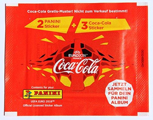 Panini Euro 2016 - 1 x Tüte Edition Coca Cola Deutschland