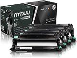 Mipuu Tambor de imagen compatible con Brother DR-243CL (4-Pack) para DCP-L3550cdw HL-L3210cw HL-3230cdw MFC-L3770cdw MFC-L3750cdw MFC-L3730cdn HL-L3270cdw DCP-L3510cdw Impresora láser