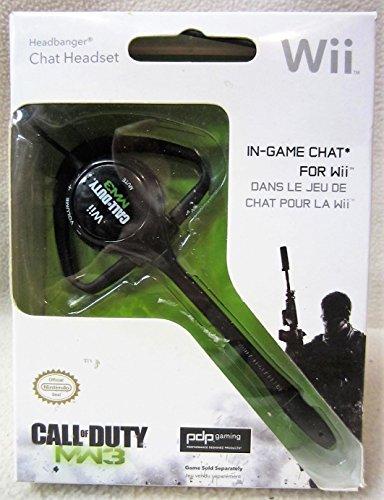 Headbanger Chat Headset Call of Duty MW3 (Black)