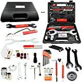 Lumintrail Bike Bicycle Repair Tool Kit 42 Piece Multi Tool Bicycle Maintenance Set for Road Bikes and Mountain Bikes with Tool Box