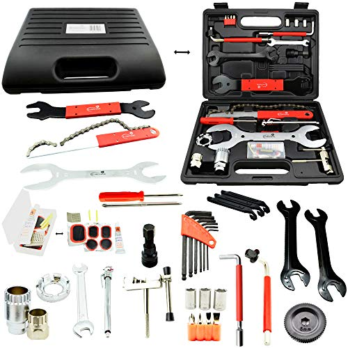 Lumintrail Bike Repair Tool Kit 42 Piece Multi...