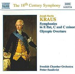 Joseph Martin Kraus : Symphonies - Ouverture Olympie BV.29