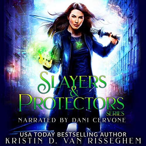 Slayers & Protectors Series 3 Book Collection: Dragon Slayers, Dragon Wars, & Dragon Protectors audiobook cover art