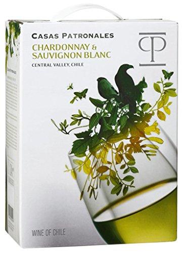 Casas Patronales - Chardonnay & Sauvignon Blanc Weißwein 13,5% Vol. - 3l Bag-in-Box