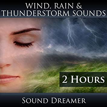 Wind, Rain and Thunderstorm Sounds (2 Hours)