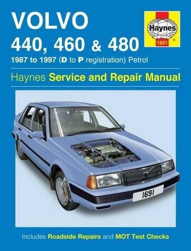 Volvo 440, 460 & 480 Petrol (87 - 97) Haynes Repair Manual