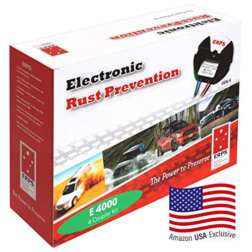 Electronic Rust Prevention Systems Self Install Kit for Motor Vehicle RV Truck 4x4 4WD SUV Car, Anti-Corrosion Protection Proofing, Rust Inhibitor, Rust Stopper for Cars, 10 Year Worldwide Warranty