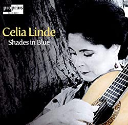 Anzeige Amazon (Celia Linde - Shades in Blue)