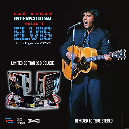 Las vegas international presents elvis - the first engagements 1969-70