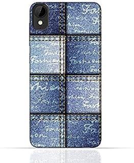 HTC Desire 825 TPU Silicone Case with Denim Fabric Seamless Design