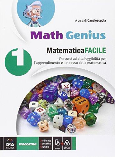 Matematica facile. Per la Scuola media. Con e-book. Con espansione online (Vol. 1)