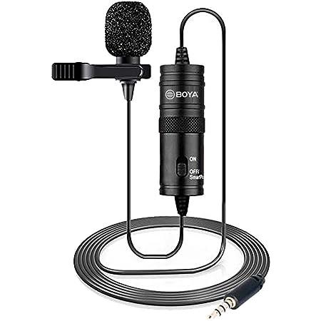 Boya Lavalier Microphone By M1 Schwarz M Musikinstrumente