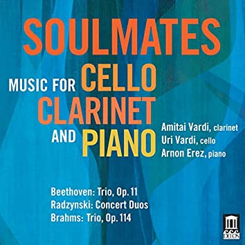 Soulmates: Music for Cello, Clarinet & Piano