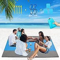 Mekomy Sand Free and Waterproof Large Beach Blanket