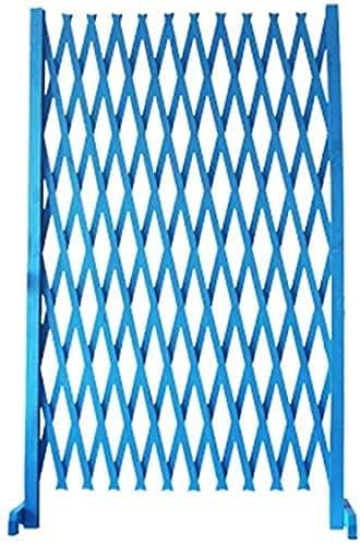 IOUYRRN Recinzioni Bianco/Blu Recinzione in Legno Giardino Giardino Recinzione telescopica Decorazione Decorativa di espansione Decorativa Recinzione Animale barriera Recinzione Decorativa recinzion