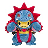 HNTOY Cute Pikachu Plush Doll Toy cos Snorlax Charizard Tyranitar Hydreigon Garchomp Ampharos Elf Stuffed Toys Gifts 20cm Hydreigon