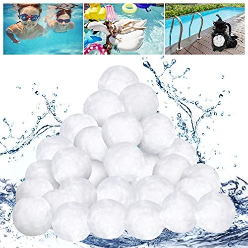 Urslif Pool Filtro Balls Pool Cleaner Sand Filter 700g per Piscina Sistema di filtraggio a Sabbia, Accessori per Piscina Media filtrante riciclabile per Piscina, Pompa Filtro Acquario