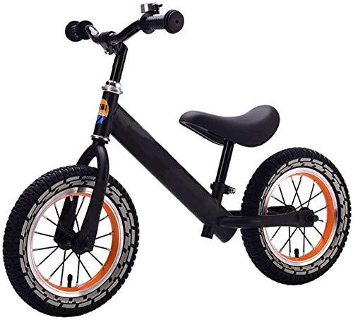 Equilibrio bicicletas niños neumáticos de acero productos bicicleta de entrenamiento para niños pequeños de 2 a 6 años