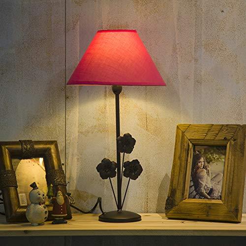 2 Stück Rosentischlampe und 1 Stück gelbe Pendelleuchte