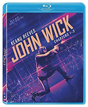 John Wick  Chapters 1-3 [Blu-ray + DVD + Digital]