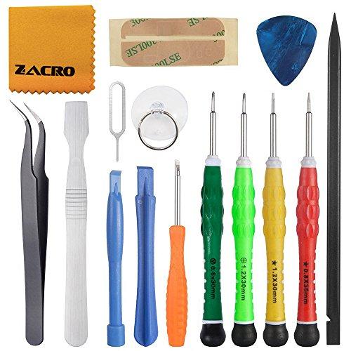 Zacro Reparatur Werkzeug Set (15 in 1 Reparatur Werkzeug Set)