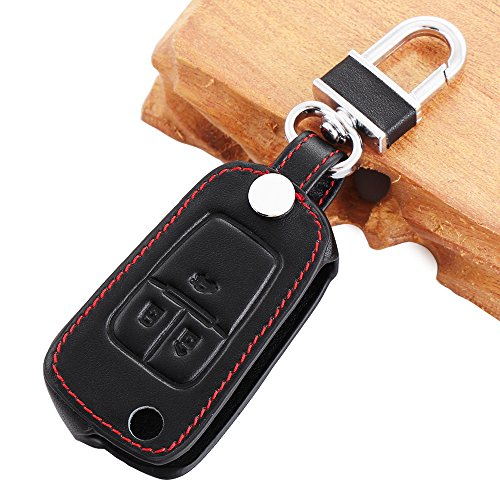 Funda llavero para llave mando de coche, 3D tipo cartera, adecuada para llave de Chevrolet Cruze, Av