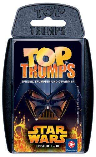Winning Moves 60239 Top Trumps - Star Wars I-III, Trumpfspiel