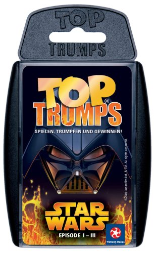 Winning Moves 60239 Top Trumps - Star Wars I-III, Trumpfspiel
