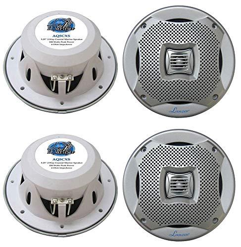 vm audio car speakers 4) NEW LANZAR AQ5CXS 5.25