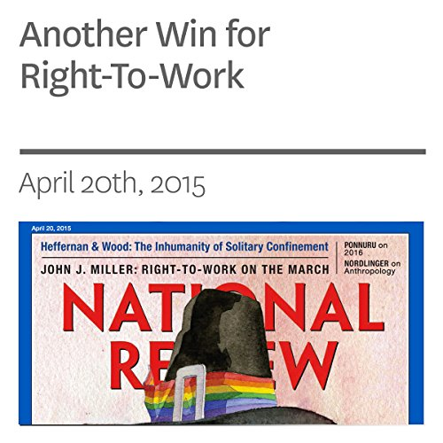 Another Win for Right-To-Work audiobook cover art