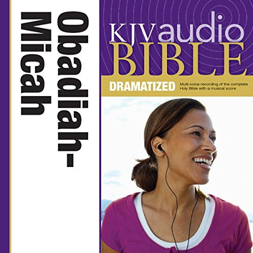Dramatized Audio Bible - King James Version, KJV: (26) Obadiah, Jonah, and Micah audiobook cover art
