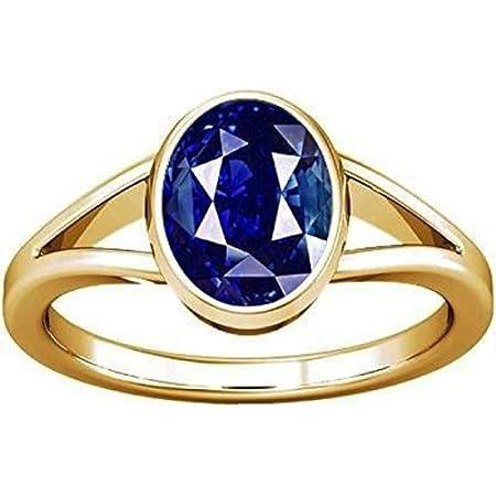 Nilam//Neelam Stone Panchadhatu Pendant Ramneek Jewels Divya Shakti 6.25-6.50 Carats Blue Sapphire Pendant//Locket 100/% Original AAA Quality Gemstone