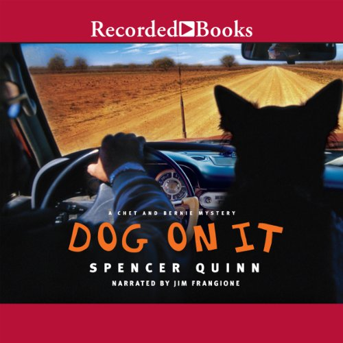 Dog on It audiobook cover art