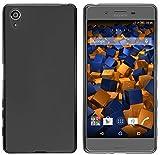 mumbi Coque de protection pour Sony Xperia X TPU gel silicone noir