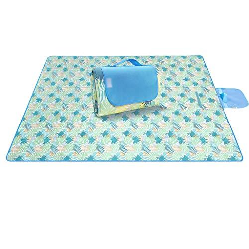 Picknickdeken picknickmat voor buiten, draagbaar, opvouwbaar, strandtent, picknickdoek, gazonmat, dik, camping, gemakkelijk te reinigen picknickdeken