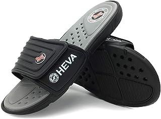 HEVA Claquette Homme Sandales Mules Chaussures de Plage & Piscine Scratch Pantoufles