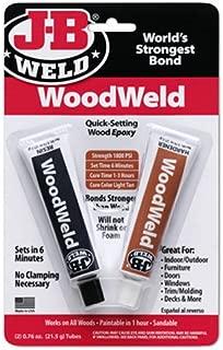 J-B Weld 8251 2 Ounce Quick Setting Epoxy Adhesive - 1.52 oz