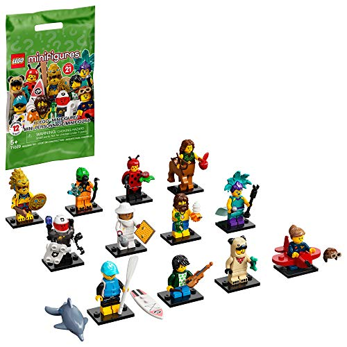 LEGO Minifigures Series 21 71029 Limited Edition Collectible Building Kit, New 2021 (1 of 12 to Collect)