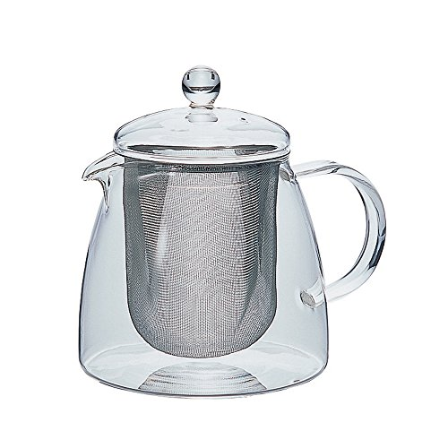 HARIO Leaf Tea Pot Pure for Four 700ml CHEN-70T (Japan Import)